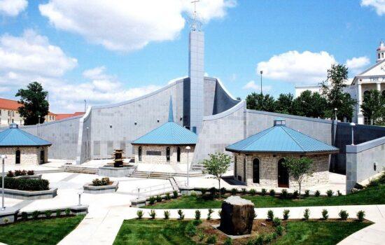 Shrine holy spirit grounds